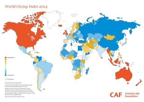 World Giving Index, Future World Giving